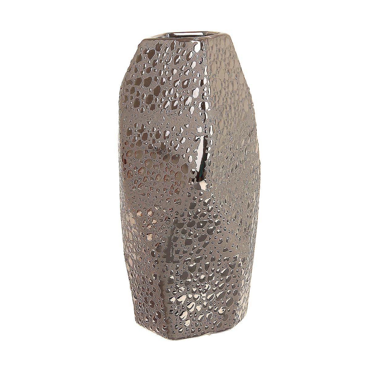 Ваза Sima-land Изгиб, высота 23,5 см863635Ваза Sima-land Изгиб изготовлена из прочной керамики. Интересная форма и необычное оформление сделают эту вазу замечательным украшением интерьера. Она предназначена как для живых, так и для искусственных цветов. Основание оснащено противоскользящими накладками. Любое помещение выглядит незавершенным без правильно расположенных предметов интерьера. Они помогают создать уют, расставить акценты, подчеркнуть достоинства или скрыть недостатки.