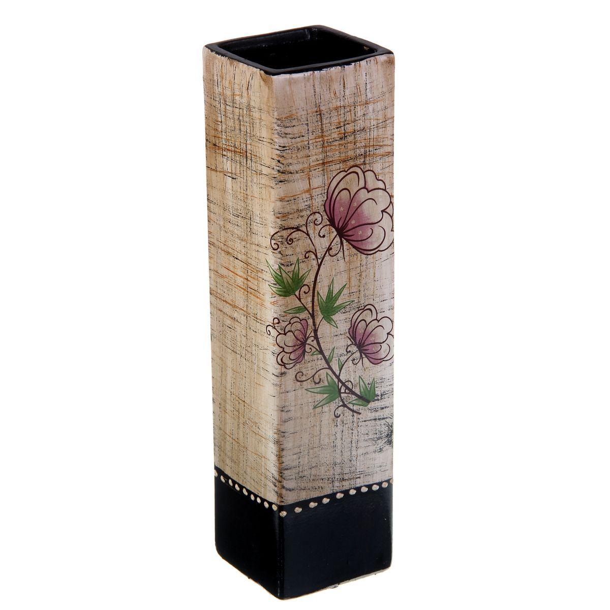 Ваза керамика цветочная 30*8*10 см прямая 912903912903Керамика