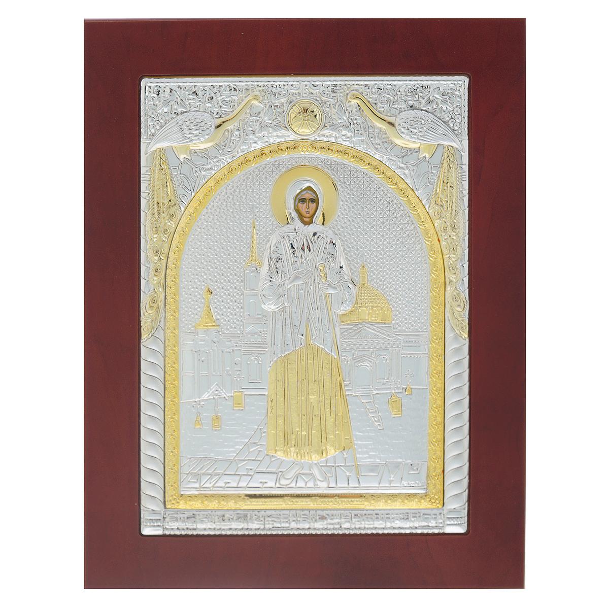 Икона Блаженной Ксении Петербургской, 23 см х 18 см