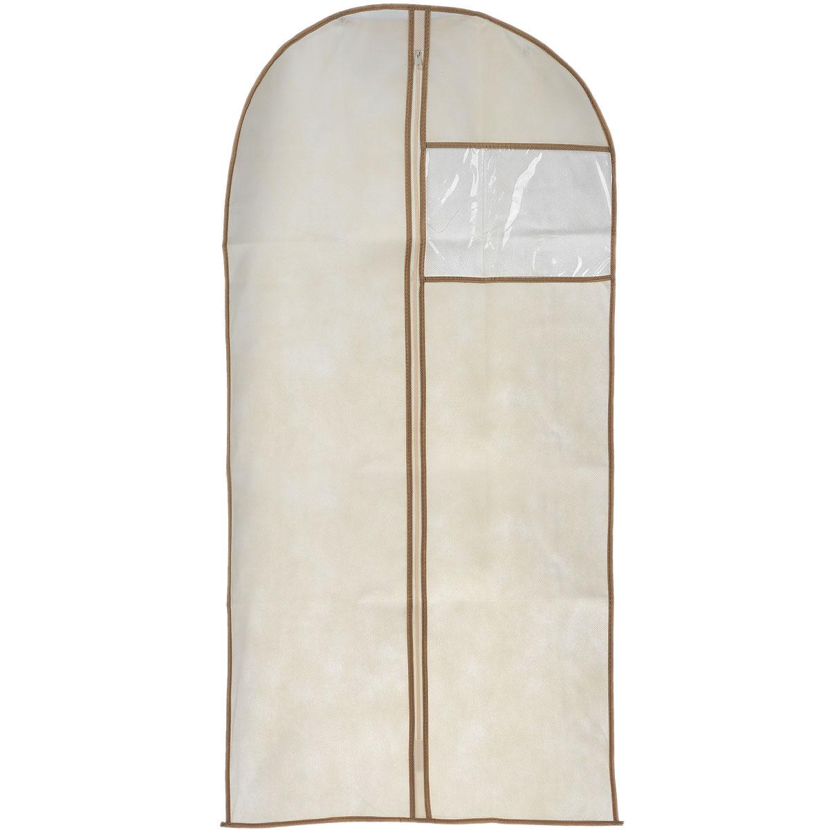 Чехол для пальто Cosatto, цвет: бежевый, 137 х 60 смCOVLCAT010 бежевыйЧехол для пальто Cosatto изготовлен из дышащего нетканого материала (полипропилена), безопасного в использовании. Предназначен для хранения пальто и другой длинной верхней одежды. Имеет прозрачное окно, застежку-молнию и специальное отверстие для крючка вешалки. Материал можно протирать в случае загрязнения влажной тряпкой.