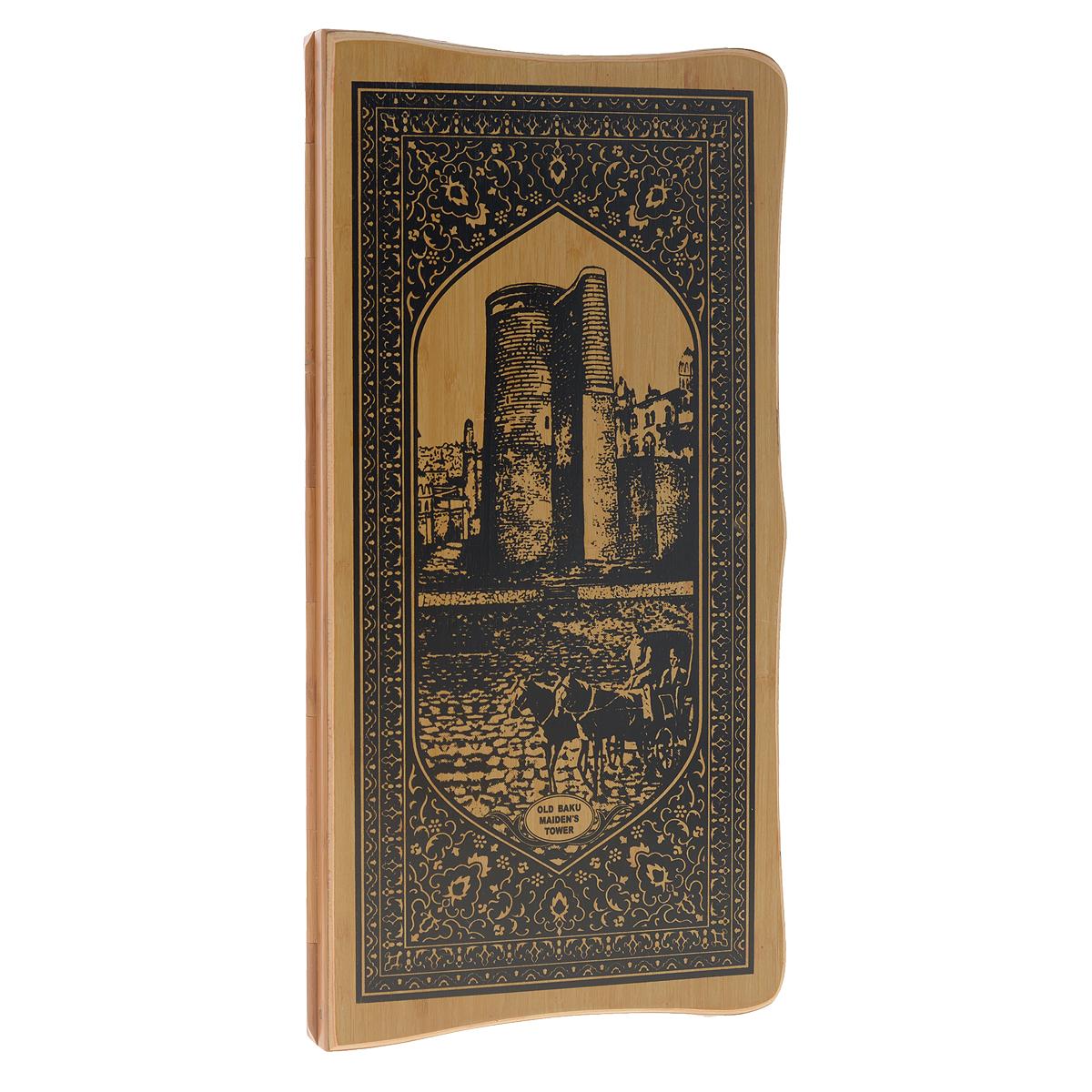 Игра настольная Русские Подарки Нарды и Шахматы, размер: 47*24 см. 24521