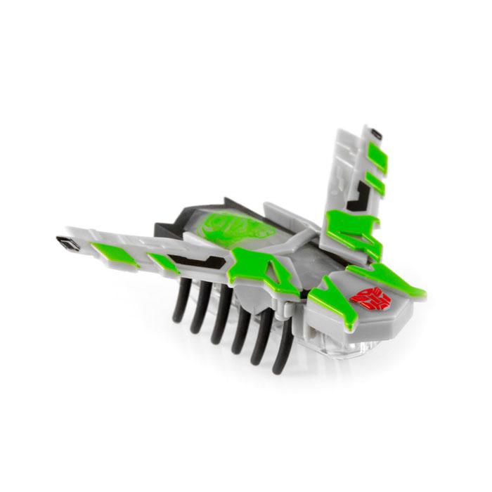 Микро-робот Hexbug Nano Crosshairs477-3157_2Микро-робот Hexbug Nano Crosshairs - Nano-жук из серии трансформеров, представитель Автоботов. Он движется вперед за счет энергии вибрации, и даже если он случайно опрокинется на спину, то перевернуться обратно ему не составит труда. Микро-робот имеет серо-зелено-черную окраску, на спине изображен персонаж из фильма и эмблема Автоботов. Робот-жук оснащен раскрывающимися крыльями стреловидной формы. В сложенном состоянии он способен перемещаться по лабиринтам-нанодромам. Микро-робот Hexbug Nano Crosshairs - прекрасный подарок для вашего ребенка. Nano-жук работает от 1 батарейки типа AG13 (входит в комплект). Гарантия: 15 дней.