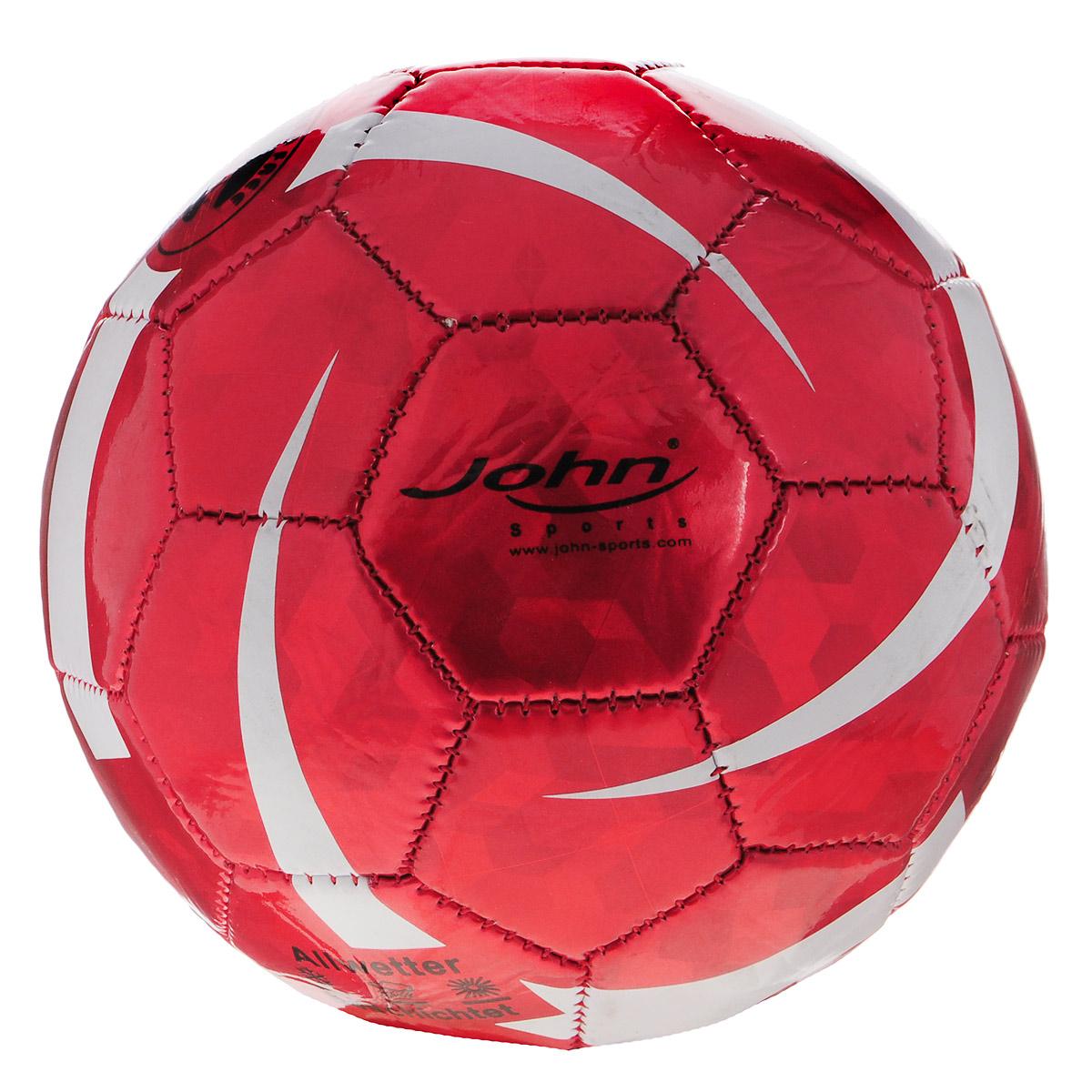 Мяч для мини-футбола John Алмаз, цвет: красный, 14,5 см52127RМяч для мини-футбола John Алмаз прекрасно подойдет для игр на свежем воздухе и в зале. Изготовлен из ПВХ, обладает отличными игровыми качествами. Яркий дизайн позволяет детям сосредоточиться на игре. Спортивные игры развивают ловкость, силу, глазомер и быстроту реакции. Порадуйте своего непоседу таким замечательным подарком!