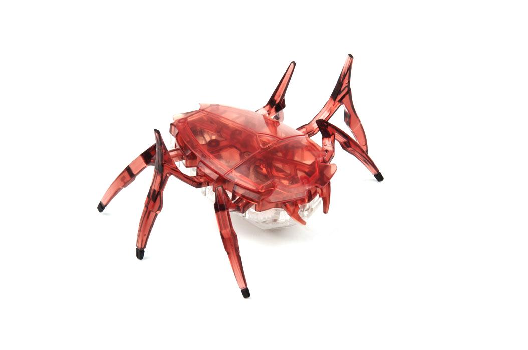 Микро-робот Hexbug Scarab, цвет: красный