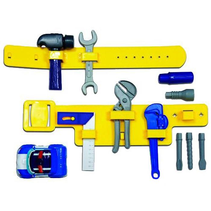 Robocar Poli Набор инструментов с машинкой83029Набор инструментов Poli выполнен из яркого прочного пластика и включает элементы для сборки полицейской машинки Поли, гаечные ключ, молоток, болты, гайки и другие необходимые для этого инструменты, для закрепления которых предусмотрен специальный пластиковый пояс. Ваш ребенок будет в восторге от такого подарка! УВАЖАЕМЫЕ КЛИЕНТЫ! Товар поставляется в цветовом ассортименте. Поставка осуществляется в зависимости от наличия на складе.