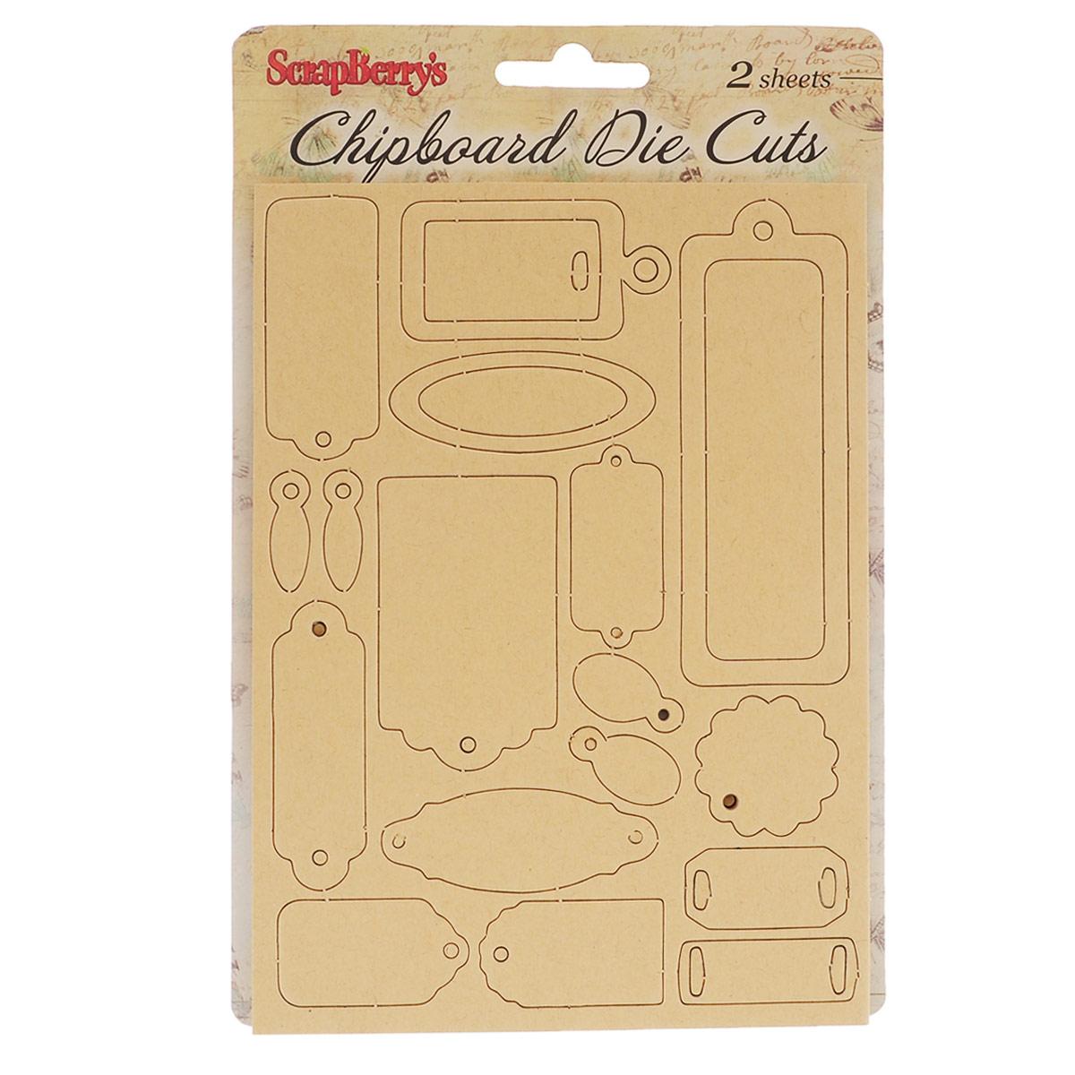 Вырубки из чипборда ScrapBerrys Крафт Тэги, 40 штSCB2022616Чипборд (chipboard) - это очень плотный картон (толщиной от 1 до 4 мм), который широко применяется в скрапбукинге в качестве заготовок. Вырубки из чипборда можно использовать для украшения фотоальбомов, скрап-страничек, подарков, конвертов, фоторамок, открыток и т.д. Они позволяют создать объем в работе и придать ей законченный вид! В наборе - 40 элементов разного дизайна, цвета и формы. Скрапбукинг - это хобби, которое способно приносить массу приятных эмоций не только человеку, который этим занимается, но и его близким, друзьям, родным. Это невероятно увлекательное занятие, которое поможет вам сохранить наиболее памятные и яркие моменты вашей жизни, а также интересно оформить интерьер дома. Размер наибольшего элемента: 10 см х 3,5 см.