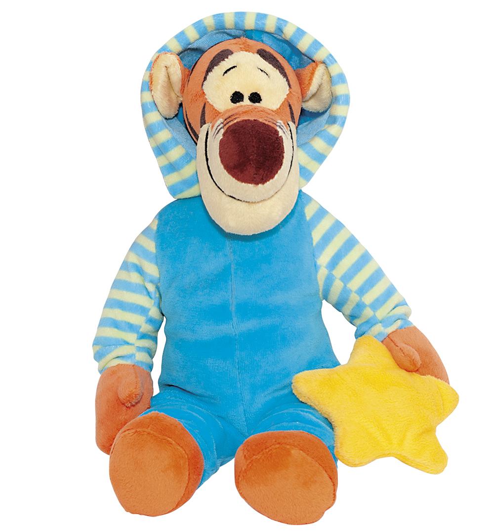 Сонный Тигруля. Мягкая музыкальная игрушка, 35 смDTT0\MОчаровательная музыкальная мягкая игрушка Сонный Тигруля, выполненная в виде героя популярного мультфильма Винии пух и его друзья вызовет умиление и улыбку у каждого, кто ее увидит. Она станет замечательным подарком, как ребенку, так и взрослому. Необычайно мягкая, она принесет радость и подарит своему обладателю мгновения нежных объятий и приятных воспоминаний. Ваш любимый герой расскажет стихотворение о приготовлении ко сну, и уснет зевая, посапывая и насвистывая мелодию. Игрушка подарит детям радость и приятные сны. Игрушка Сонный Тигруля выполнена из высококачественных текстильных материалов и гипоаллергенного синтепона. Мягкая игрушка может стать милым подарком, а может быть и лучшим другом на все времена. Предлагаемые нами игрушки представляют собой образец великолепного дизайна. Компания Disney сама занимается дизайном и предъявляет большие требования к качеству продукции: все плюшевые герои соответствуют своим мультяшным прототипам, а самое...