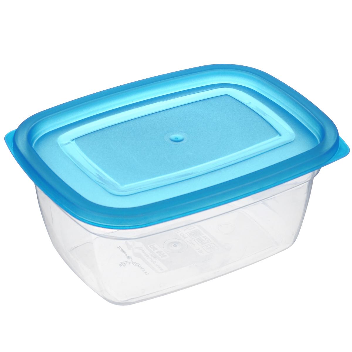 Контейнер Dunya Plastik, цвет: голубой, 0,95 л30082 голубойКонтейнер Dunya Plastik изготовлен из высококачественного пищевого пластика, который выдерживает температуру от -40°С до +100°С. Контейнер безопасен для здоровья, не содержит BPA. Контейнер имеет прямоугольную форму и оснащен плотно закрывающейся крышкой. Изделие подходит для контакта с пищевыми продуктами. Можно мыть в посудомоечной машине. Размер контейнера (с учетом крышки): 17 см х 12,5 см х 7,5 см.