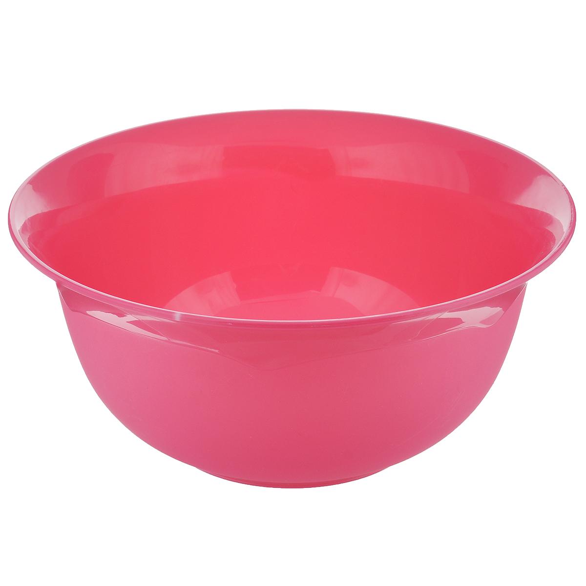 Миска Dunya Plastik, цвет: розовый, 4,4 л10165 розовыйМиска Dunya Plastik изготовлена из пищевого пластика круглой формы. Изделие очень функционально, оно пригодится на кухне для самых разнообразных нужд: в качестве салатника, миски, тарелки. Можно мыть в посудомоечной машине. Объем: 4,4 л. Диаметр: 27 см. Высота стенки: 12,5 см.