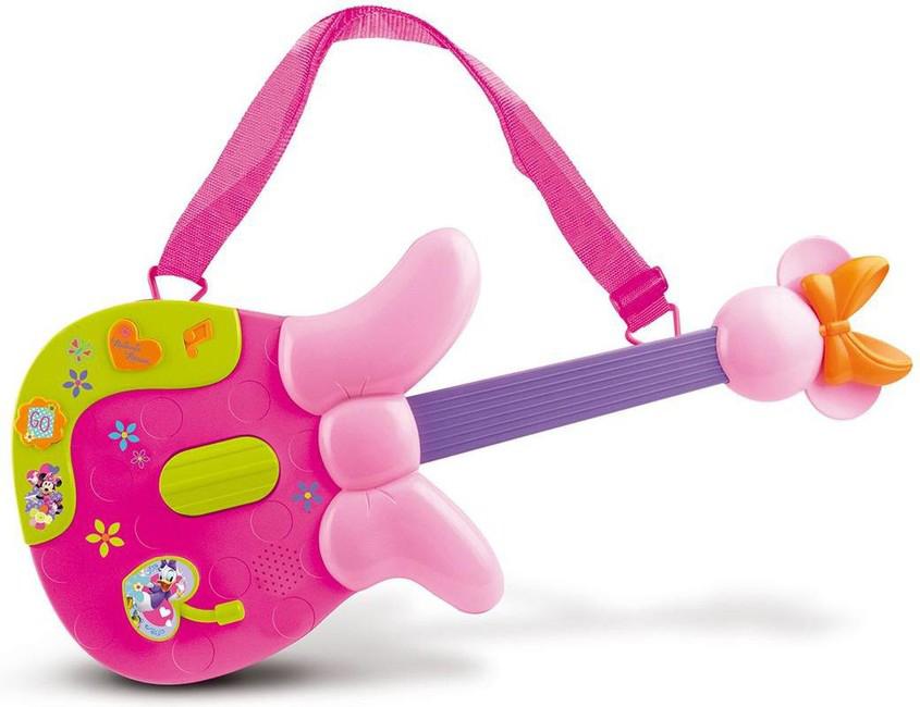 Игрушка музыкальная гитара Disney Minnie, 46,5 см