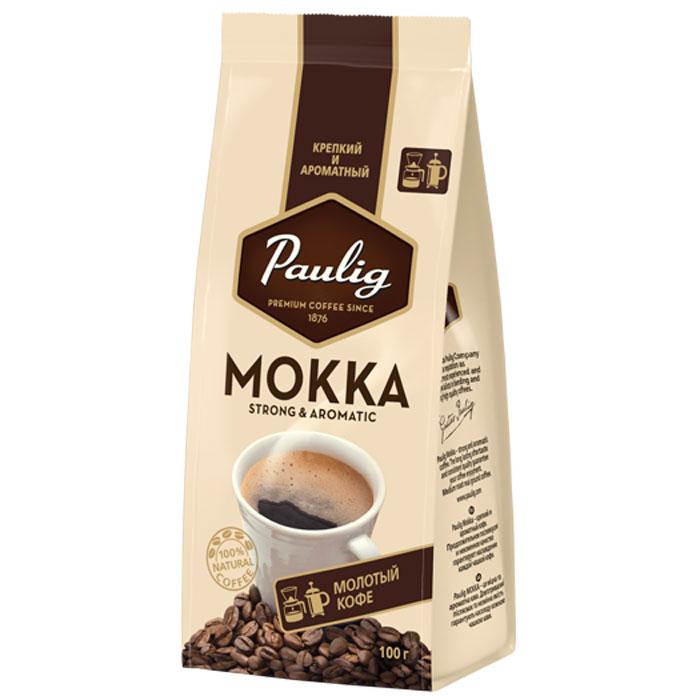 Paulig Mokka кофе молотый, 100 г16656Крепкий и ароматный кофе, разработанный с учетом предпочтений российского потребителя. Крепкий кофе на каждый день, с выраженным бодрящим эффектом. Продолжительное послевкусие и неизменное качество гарантируют наслаждение каждой чашкой кофе.