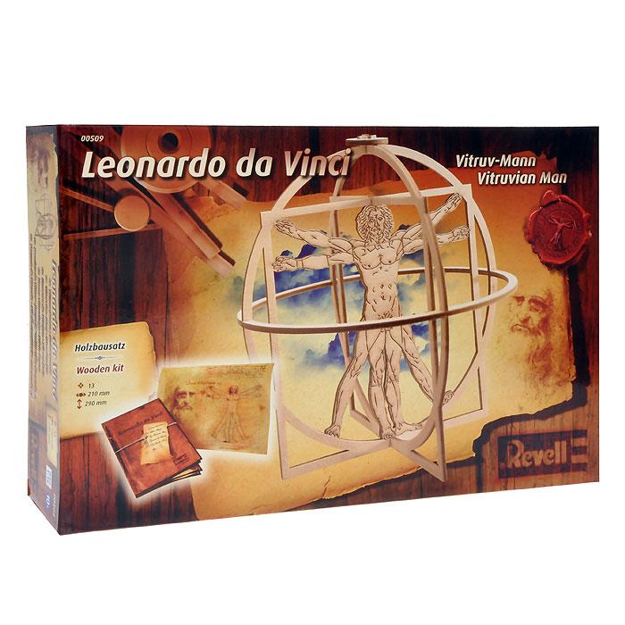 Сборная деревянная модель Витрувианский человек, 13 элементов00509RСборная деревянная модель Витрувианский человек позволит вам и вашему ребенку собрать объемную деревянную конструкцию, напоминающую знаменитый рисунок Леонардо да Винчи. Комплект включает в себя 13 элементов для сборки, клей, абразив и иллюстрированную инструкцию по сборке модели. Строительство требует терпения и немного усилий, но когда работа будет завершена, вы будете восхищены красивейшей моделью! Сборная модель развивает мелкую моторику, логическое мышление, творческие способности и создает благоприятный эмоциональный фон.