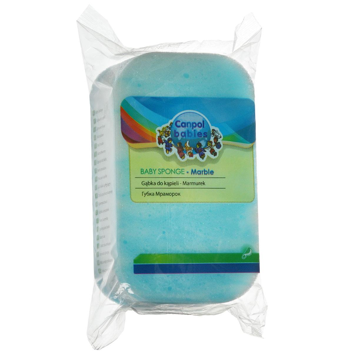 Canpol Babies Губка для купания Marble цвет голубой