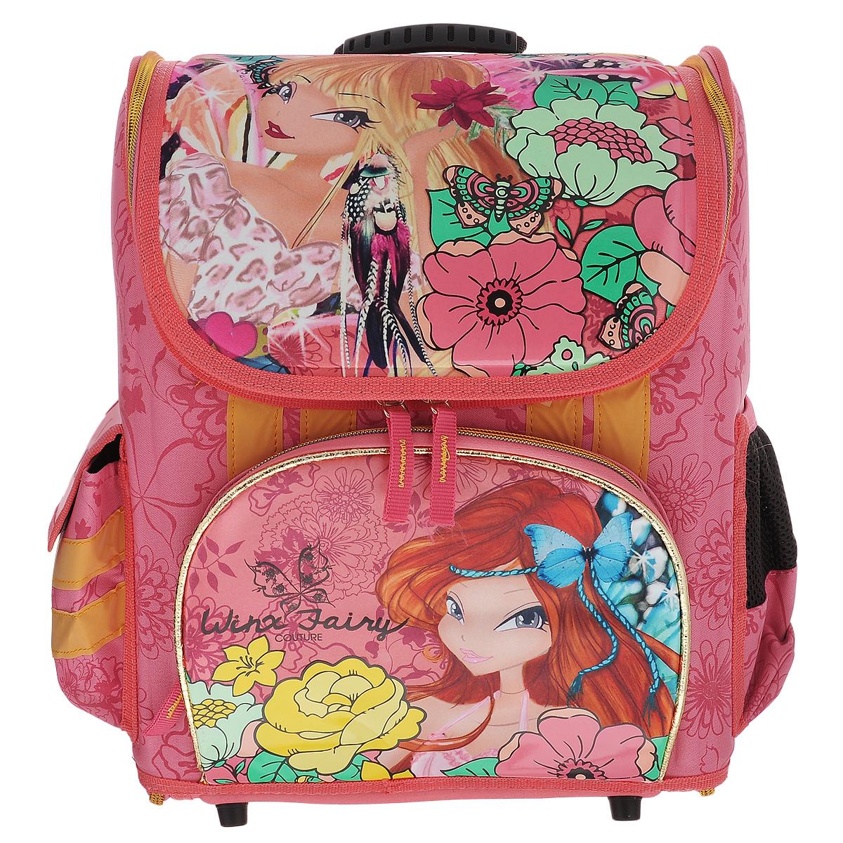 "Winx Club Ранец ""Winx Fairy Couture"", с наполнением, цвет: розовый WXOZ-UT1-116SET"
