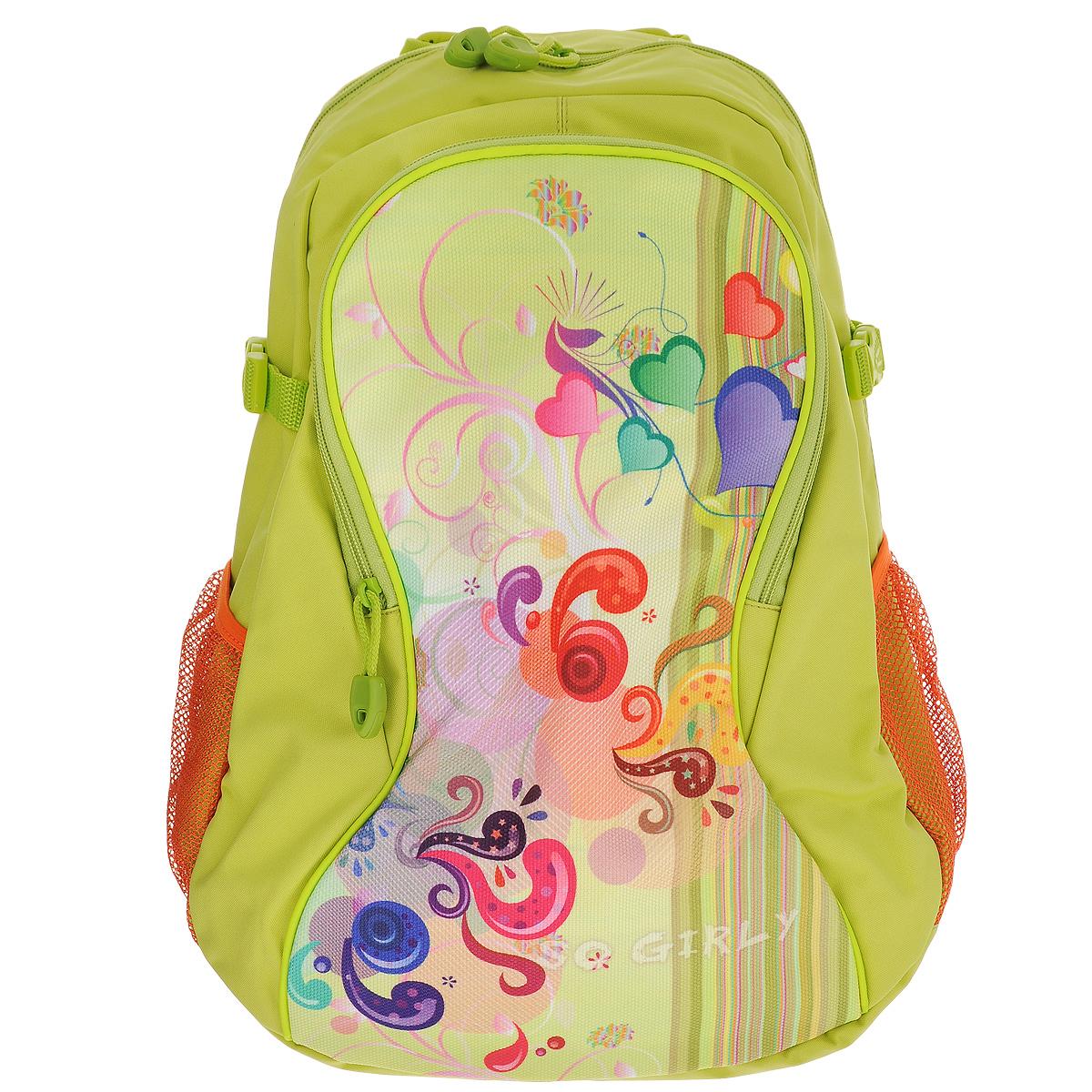Tiger Enterprise Рюкзак детский Atiu цвет зеленый8807/TG_зеленыйСтильный школьный рюкзак ATIU 8807 - это красивый и удобный ранец, который подойдет всем, кто хочет разнообразить свои школьные будни. Благодаря анатомической рельефной спинке, повторяющей контур спины и двум эргономичным плечевым ремням, длина которых регулируется, у ребенка не возникнут проблемы с позвоночником. Ранец, выполненный из антибактериального, водоотталкивающего и не выгорающего на солнце материала, оформлен изображением забавных машинок.