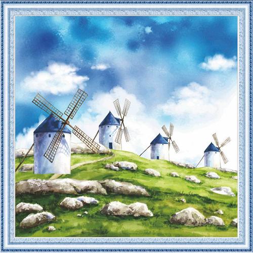 Набор для изготовления картины со стразами Cristal Ветряные мельницы, 55 х 55 см7711546Набор для изготовления картины со стразами Cristal Ветряные мельницы поможет вам создать свой личный шедевр. Работа, выполненная своими руками, станет отличным подарком для друзей и близких! Набор содержит: - полотно-схема с нанесенным рисунком и клеевым слоем (55 см х 55 см), - пластиковое блюдце; - стразы (19 цветов); - карандаш; - две ватные палочки; - 2 скрепки; - пинцет; - точилка; - инструкция на русском языке. Подарите близким тепло ваших рук! УВАЖАЕМЫЕ КЛИЕНТЫ! Обращаем ваше внимание, на тот факт, что рамка в комплект не входит, а служит для визуального восприятия товара.