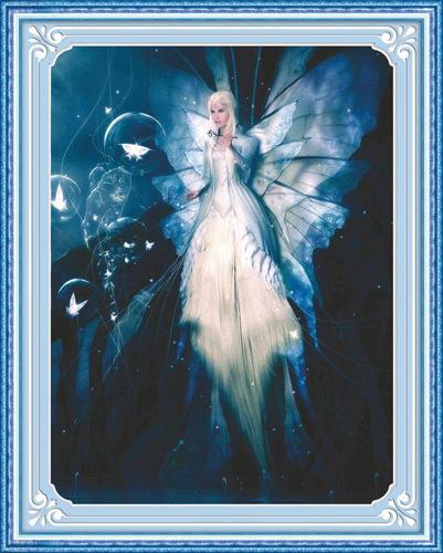Набор для изготовления картины со стразами Cristal
