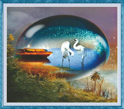 Набор для изготовления картины со стразами Cristal Две цапли, 50 см х 43 см7711559Набор для изготовления картины со стразами Cristal Две цапли поможет вам создать свой личный шедевр. Работа, выполненная своими руками, станет отличным подарком для друзей и близких! Набор содержит: - полотно-схема с нанесенным рисунком и клеевым слоем (60 см х 54 см), - пластиковое блюдце; - стразы (25 цветов); - карандаш; - пинцет; - точилка; - две ватные палочки; - маленькие пакетики; - скрепка; - инструкция на русском языке. Подарите близким тепло ваших рук! УВАЖАЕМЫЕ КЛИЕНТЫ! Обращаем ваше внимание, на тот факт, что рамка в комплект не входит, а служит для визуального восприятия товара.