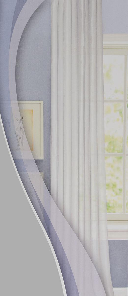 Штора готовая для гостиной Garden, на ленте, цвет: светло-серый, размер 300*260 см. C W875 V30C W875 V30Изящная тюлевая штора Garden выполнена из структурной органзы (100% полиэстера). Полупрозрачная ткань, приятный цвет привлекут к себе внимание и органично впишутся в интерьер помещения. Такая штора идеально подходит для солнечных комнат. Мягко рассеивая прямые лучи, она хорошо пропускает дневной свет и защищает от посторонних глаз. Отличное решение для многослойного оформления окон. Штора крепится на карниз при помощи ленты, которая поможет красиво и равномерно задрапировать верх.