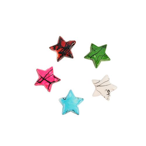 Бусины Астра Цветные камешки, цвет: розовый, голубой, белый, диаметр 10 мм, 125 шт7710786Набор бусин Астра Цветные камешки, изготовленный из пластика в виде камешков, позволит вам своими руками создать оригинальные ожерелья, бусы или браслеты. Бусины в форме небольших звездочек имеют цветные разводы с оригинальным узором. Изготовление украшений - занимательное хобби и реализация творческих способностей рукодельницы, это возможность создания неповторимого индивидуального подарка. Диаметр бусины: 10 мм.