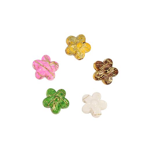 Бусины Астра Цветные камешки, цвет: красный, зеленый, голубой, диаметр 10 мм, 88 шт7710785Набор бусин Астра Цветные камешки, изготовленный из пластика в виде камешков, позволит вам своими руками создать оригинальные ожерелья, бусы или браслеты. Бусины в форме небольших цветков имеют цветные разводы с оригинальным золотистым узором. Изготовление украшений - занимательное хобби и реализация творческих способностей рукодельницы, это возможность создания неповторимого индивидуального подарка. Диаметр бусины: 10 мм.