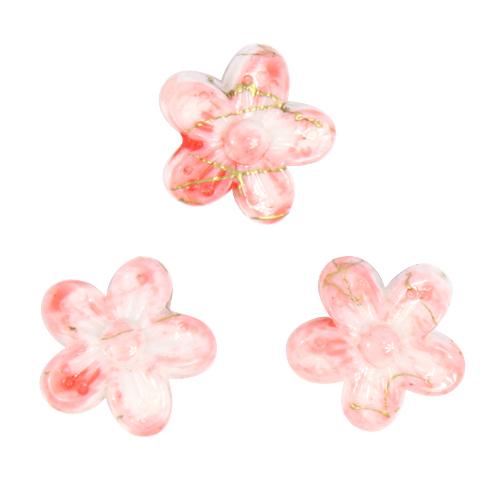 Бусины Астра Цветные камешки, цвет: розовый (6-35), диаметр 18 мм, 30 шт7710784_6-35Набор бусин Астра Цветные камешки, изготовленный из пластика в виде камешков, позволит вам своими руками создать оригинальные ожерелья, бусы или браслеты. Бусины в форме цветка имеют цветные разводы с оригинальным золотистым узором. Изготовление украшений - занимательное хобби и реализация творческих способностей рукодельницы, это возможность создания неповторимого индивидуального подарка. Диаметр бусины: 18 мм.