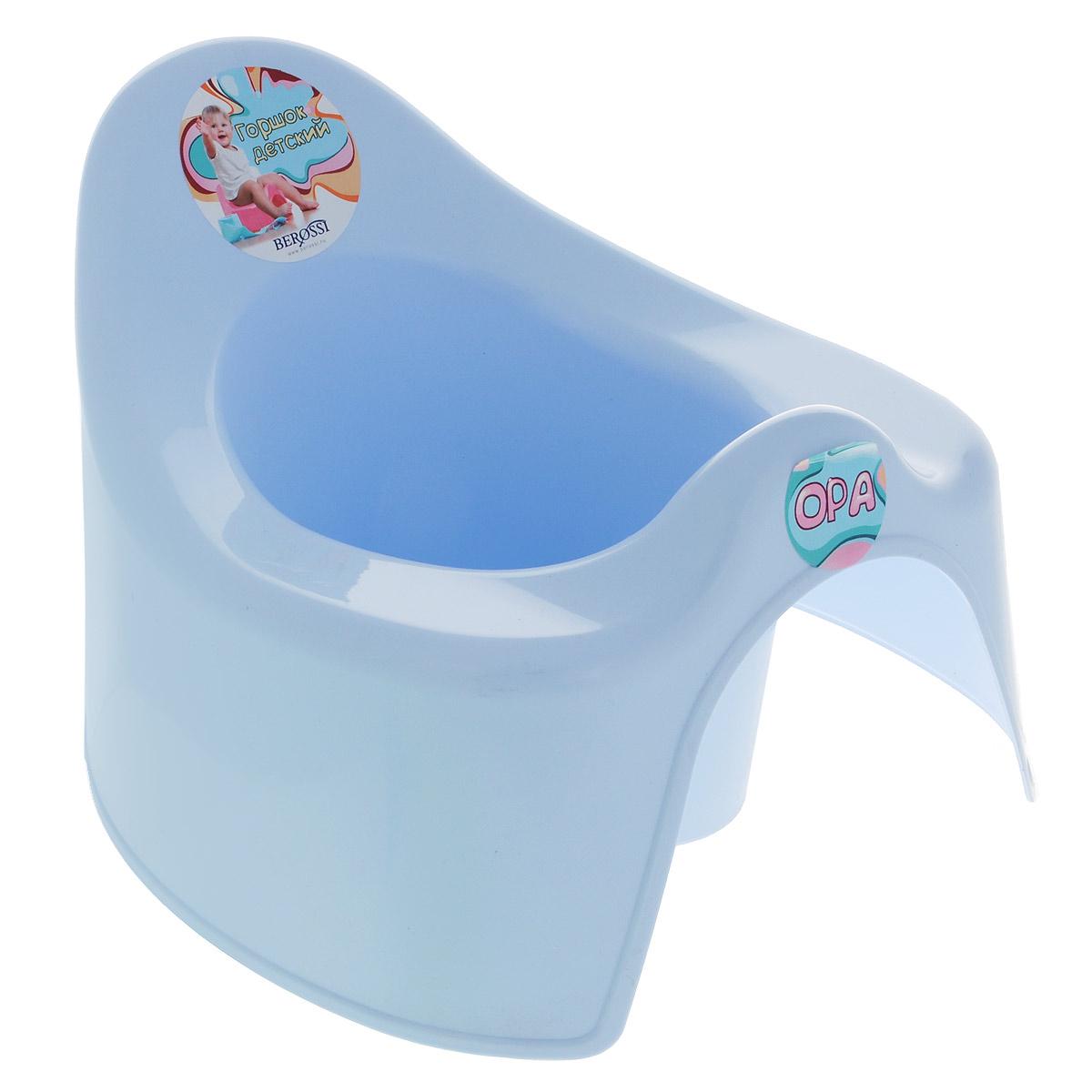 """Горшок детский Berossi """"Opa"""", цвет: светло-голубой АС21208"""