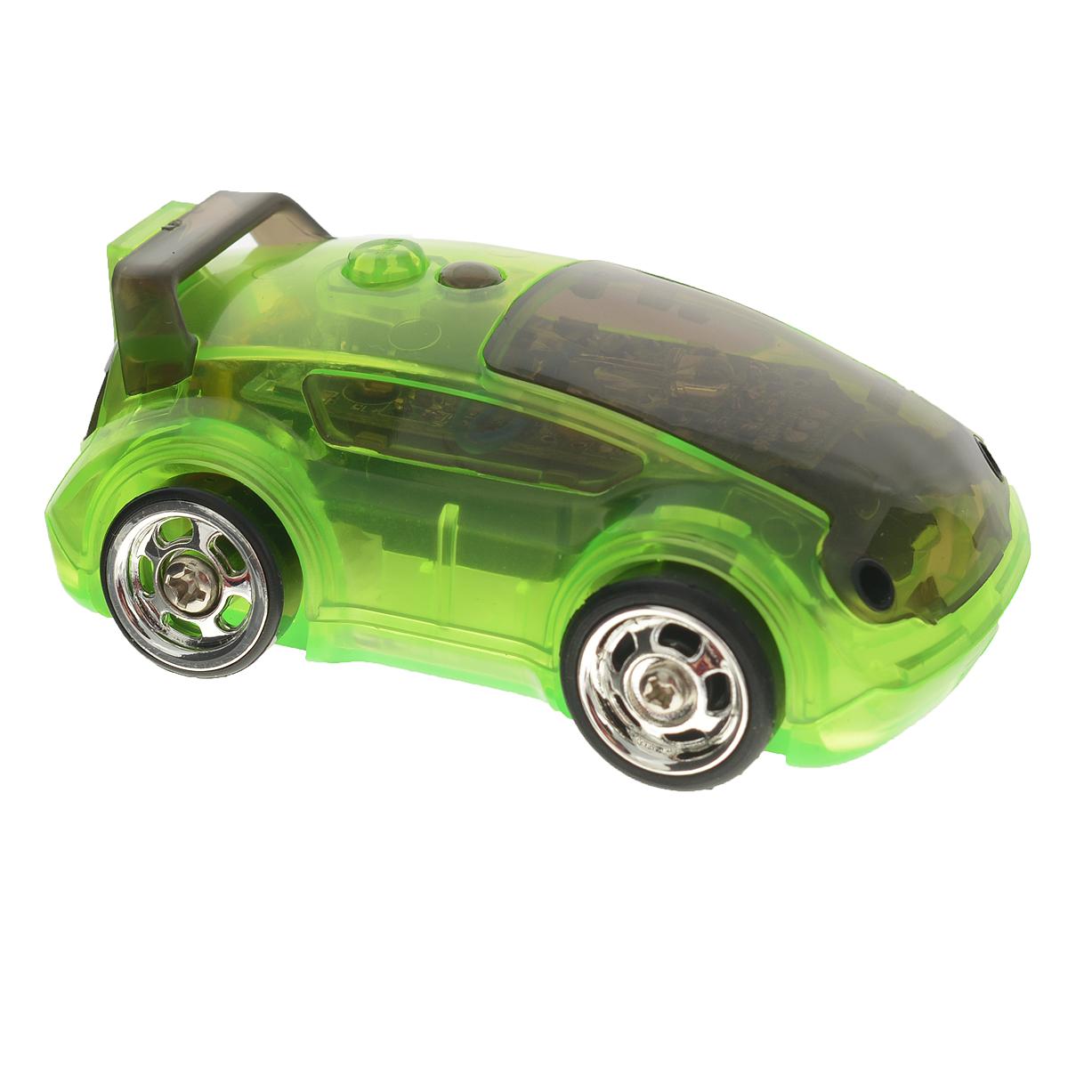 DeskPets Машина-микроробот на радиоуправлении Карбот цвет зеленый