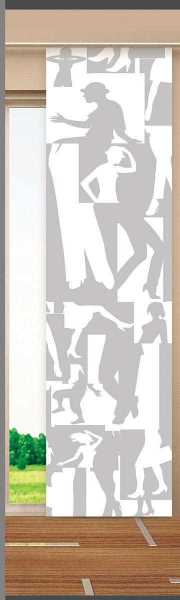 Японская панель Garden, цвет: белый, серый, 60 х 270 см V389W678 (1985) 60х270 V389Японская панель Garden выполнена из 100% полиэстера с красивым рисунком. Такая панель сможет заменить обычные шторы и оригинально украсить любой интерьер - от классики до авангарда. Она будет отлично смотреться как в просторных помещениях с большими окнами, так и в маленьких комнатах. Кроме того, такие панели позволяют оформлять не только оконные и дверные проемы, но и могут выступать в качестве декоративных перегородок: для отделения рабочей зоны, спального места, кухни и т.д. Преимущество данных панелей в том, что они, как и жалюзи, занимают мало места. Конструкция позволяет их легко монтировать и снимать. Внизу панель закреплена специальным утяжелителем, а вверху карнизным держателем. Для подвешивания японских панелей необходим специальный карниз. Он представляет собой алюминиевый профиль с несколькими рядами (до 10 рядов). Панель крепится на направляющую при помощи липучки. Такое крепление позволяет очень быстро и легко менять панели на другие. На один карниз можно...