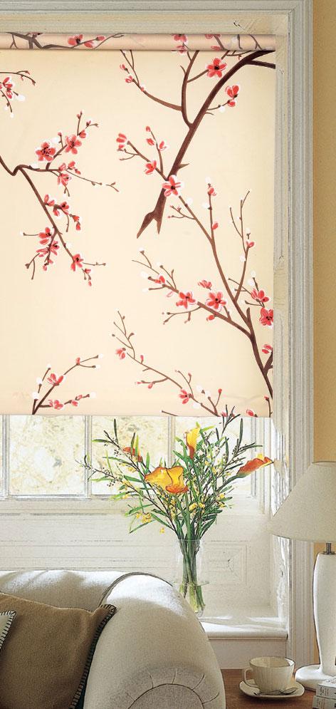 Ролло Garden Тамара, 120 х 170 см, с креплением на стену-потолок, цвет: кремовый6283120/11 W1223Ролло Garden Тамара изготовлены из высокопрочной плотной ткани и украшены изображением веточек с цветками. Ткань не выцветает, обладает отличной цветоустойчивостью и сохраняет свой размер даже при намокании. Крепление универсальное, шторы крепятся либо скобами на раму, либо на крепление с двусторонним скотчем. Рулонные шторы (ролло) - это полотно ткани, которое наматывается на вал. С помощью удобного механизма управления рулонные шторы могут опускаться до необходимого уровня и фиксироваться в этом положении. Ролло Garden Тамара - это отличное решение для тех, кто не хочет утяжелять помещение тканевыми шторами. Они не только открывают пространство, но и легко регулируют подачу света в помещение. Происходит это с помощью шнура-цепочки. В комплект входит: - крепления, - саморезы, - дюбеля, - шнур-цепочка, - ролло.