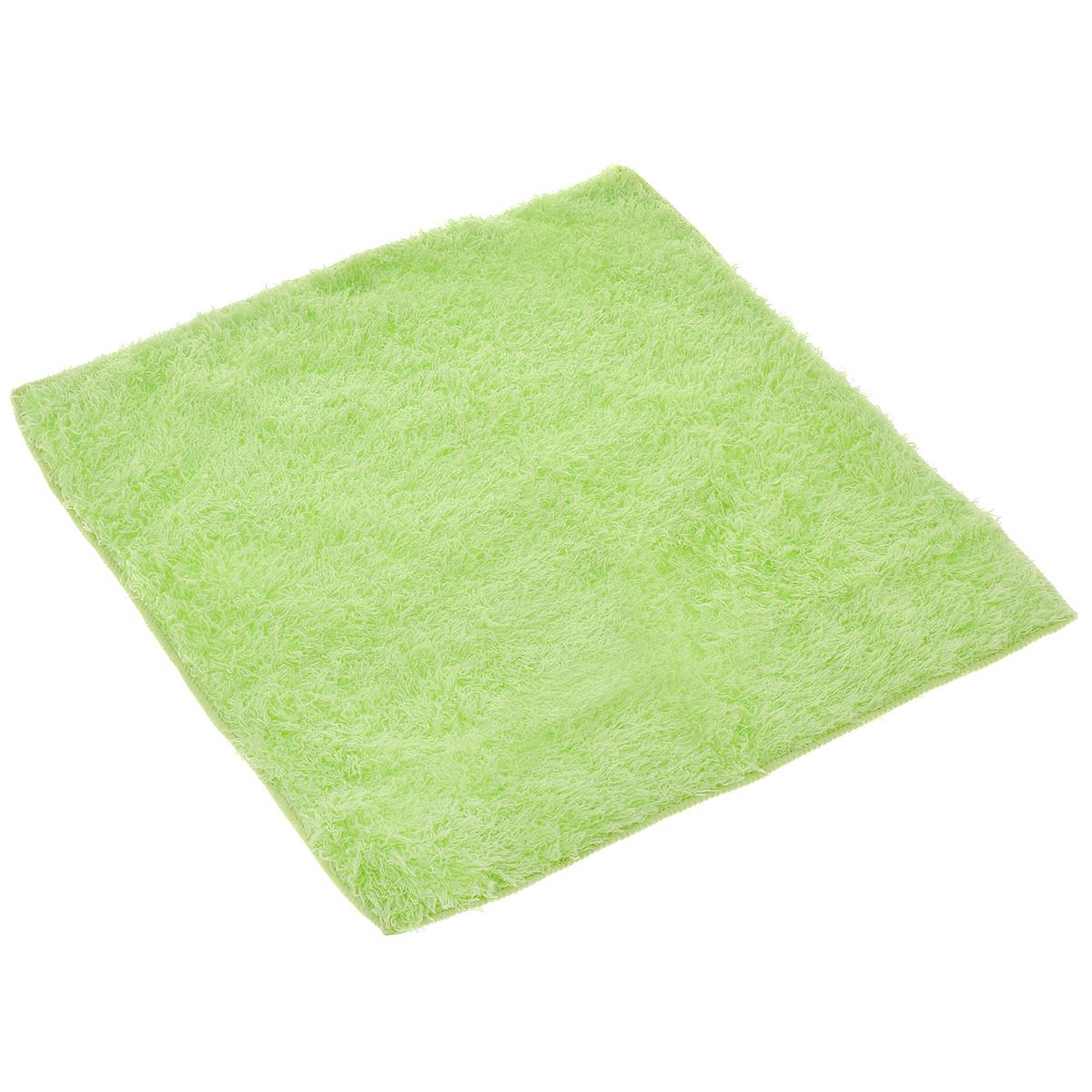 Салфетка чистящая Sapfire, для мытья и полировки автомобиля, цвет: салатовый, 40 х 40 см3022-SFM салатовыйБлагодаря своей уникальной ворсовой структуре, салфетка Sapfire прекрасно подходит для мытья и полировки автомобиля. Материал салфетки (микрофибра) обладает уникальной способностью быстро впитывать большой объем жидкости. Клиновидные микроскопические волокна захватывают и легко удерживают частички пыли, жировой и никотиновый налет, микроорганизмы, в том числе болезнетворные и вызывающие аллергию. Салфетка великолепно удаляет пыль и грязь. Протертая поверхность становится идеально чистой, сухой, блестящей, без разводов и ворсинок. Размер салфетки: 40 см х 40 см.