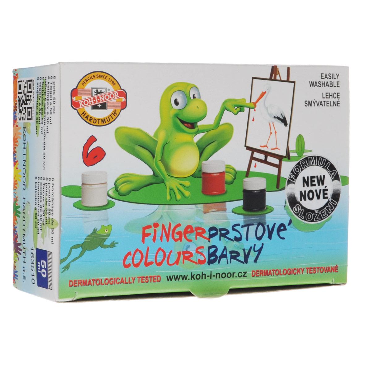 Краски для рисования пальцами