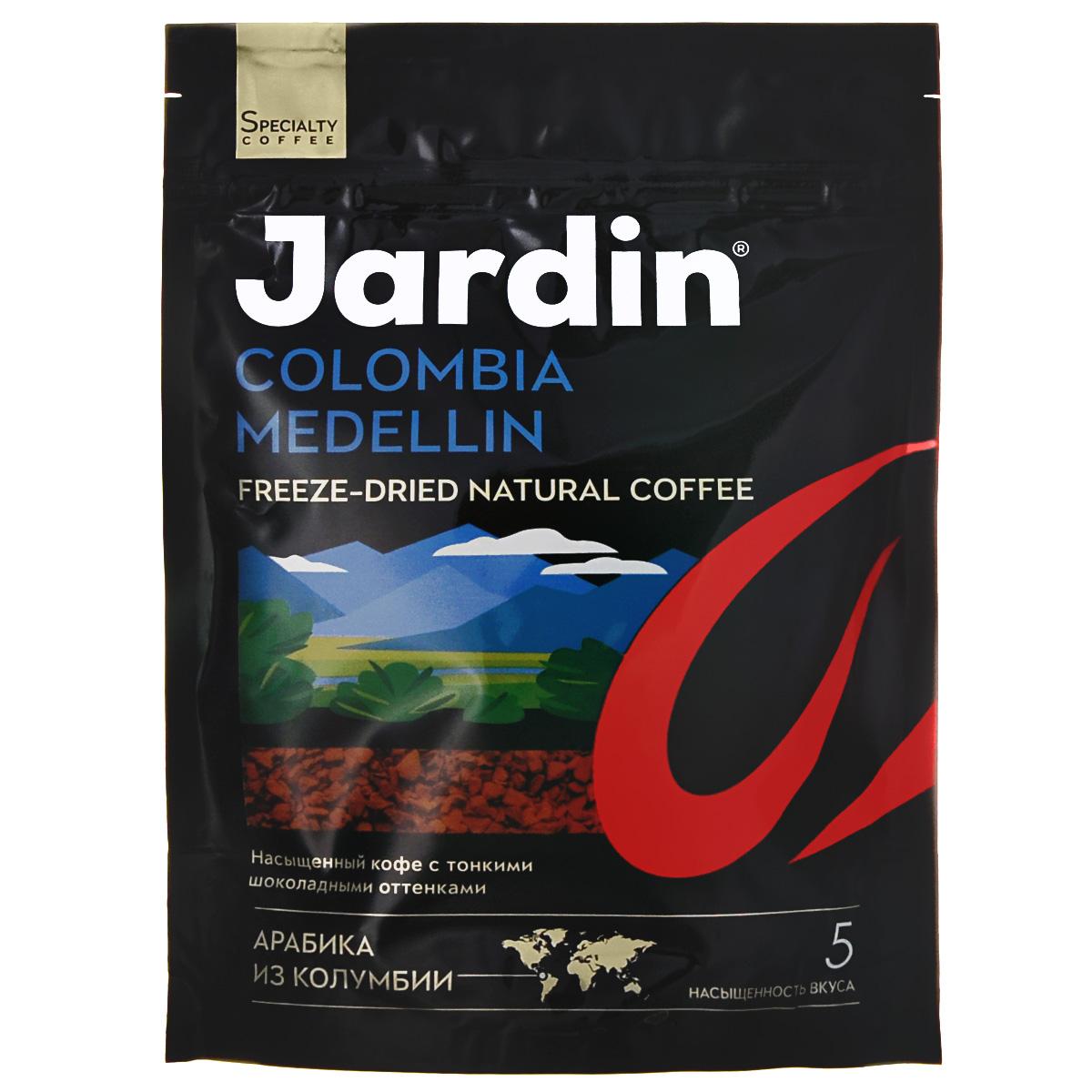 Jardin Colombia Medellin кофе растворимый, 75 г (м/у)