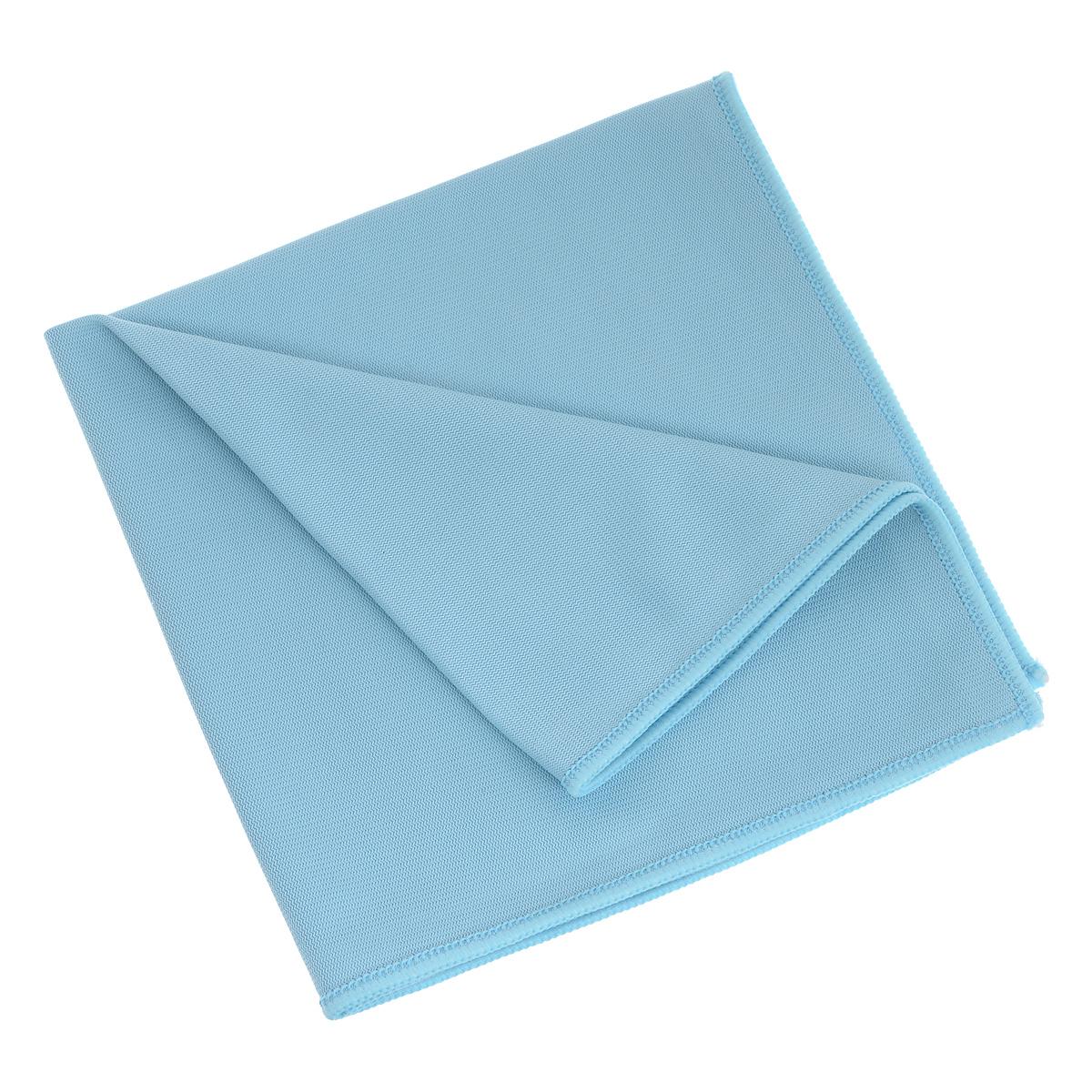 Салфетка для стекол и зеркал Bioclean Fine-Line, цвет: голубой, 40 см х 40 смALF404BLСалфетка Bioclean Profi изготовлена из микрофибры. Предназначена для мытья стекол, зеркал и хромированных поверхностей, для полировки посуды, бокалов и ювелирных изделий. Эффективно и деликатно удаляет загрязнения, в том числе пятна и отпечатки пальцев. Безворсовая салфетка делает уборку и полировку легкой, быстрой и эффективной, позволяя значительно экономить средства и время. Состав: 80% полиэстер, 20% полиамид.