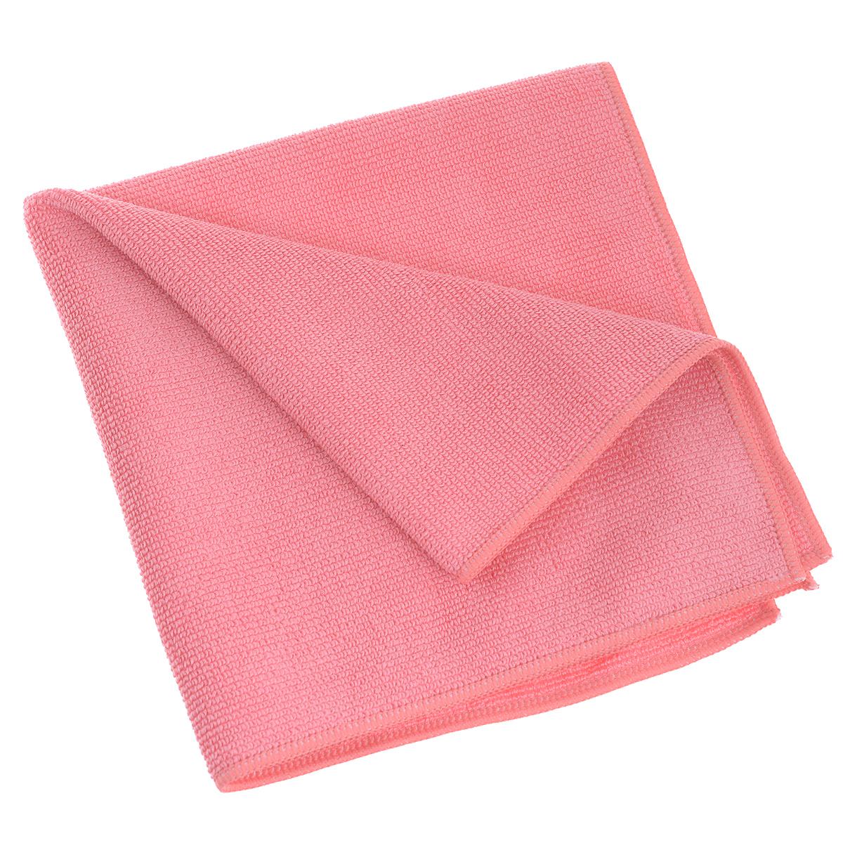Салфетка универсальная Bioclean Platin, цвет: розовый, 40 см х 40 см072Салфетка Bioclean Platin, изготовленная из микроволокна, предназначена для домашней и профессиональной уборки помещений. Изделие обладает высокой износоустойчивостью и рассчитано на многократное использование. Выдерживает не менее 500 стирок с любым порошком при температуре до 95°С. Благодаря специальной структуре волокон производить уборку возможно как с применением бытовых моющих средств, так и без них. Не оставляет разводов и ворсинок. Состав: 80% полиэстер, 20% полиамид.
