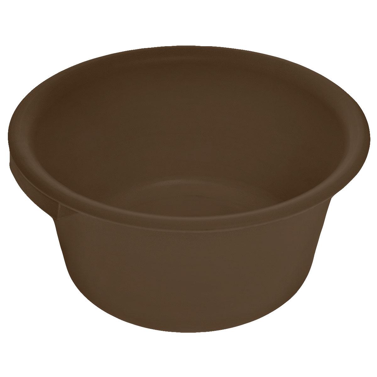 Таз хозяйственный Альтернатива, цвет: темно-коричневый, 9 лМ1106_коричневыйТаз Альтернатива изготовлен из высококачественного пластика. Он выполнен в классическом круглом варианте. Для удобного использования изделие снабжено двумя ручками. Таз предназначен для стирки и хранения разных вещей. Он пригодится в любом хозяйстве. Диаметр (по верхнему краю): 35 см. Высота: 15,5 см.
