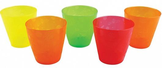 Munchkin набор стаканчиков 237 мл 5шт. 6+11682Удобные яркие стаканчики Munchkin помогут приучить ребенка к обычной взрослой чашке.