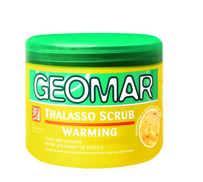 Geomar Талассо Скраб с ароматом банана 600 гр.3868025421Интенсивно отшелушивает, удаляет загрязнения и отмершие клетки, оставляя кожу мягкой и гладкой. В формуле содержатся ингредиенты природного происхождения, которые оказывают разогревающее действие, улучшают циркуляцию и позволяют коже немедленно ощутить благоприятные изменения.