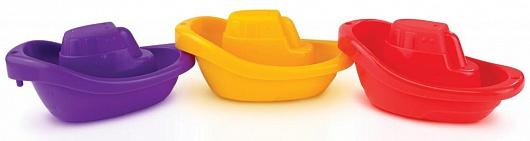 Munchkin игрушка для ванны лодочки 4+ , цвет: оранжевый12006С разноцветными лодочками, которыми можно играть в ванной, не заскучает ни один малыш! Игрушка развлекает кроху во время купания и в то же время развивает мелкую моторику и логическое мышление - лодочки соединяются в единый состав, при этом каждая игрушка пронумерована, что позволяет ребенку получить первые представления о счете. Лодочки имеют очень простую форму с удобными изогнутыми бортиками - специально для того, чтобы малыш понимал, как устроена игрушка и легко удерживал ее в своих руках.