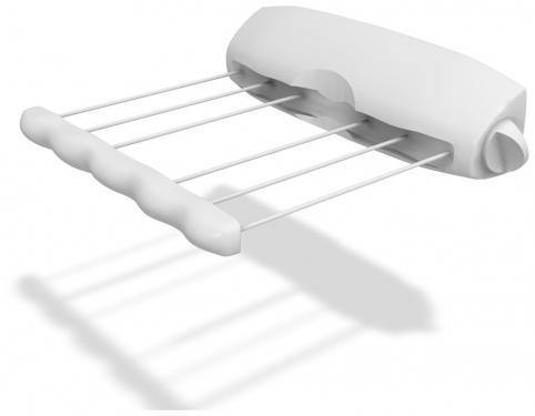Сушилка для белья Rotor 6, вытяжная, 6 линий10717065Сушилка для белья Rotor 6, изготовленная из прочного пластика, это удобная и функциональная вещь. Идеально подходит для ванных комнат и балконов, но вы можете ее установить в любом удобном для вас месте. Сушилка крепится к стене, имеет 6 горизонтально расположенных веревок. Изделие легко монтируется с помощью дюбелей и шурупов (прилагаются в комплекте). Сушилка имеет автоматическую обратную намотку веревок на барабан. Размер сушилки: 40 см х 8,5 см х 8,5 см. Длина каждой веревки: 3,6 м.