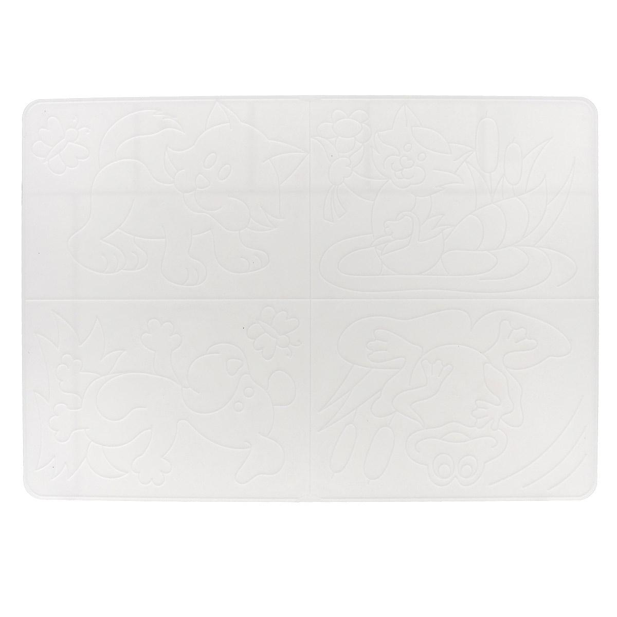 Доска для лепки Луч, пластиковая, №3. 17С 1172-0817С 1172-08Доска для лепки Луч - многофункциональный атрибут творческой деятельности. Благодаря универсальности материала, доску можно использовать как для защиты стола во время творчества ребенка, например, во время лепки, так и элемент для создания аппликации. Для этого рельефные рисунки переводятся на бумагу, а затем, с помощью пластилина, создается картинка. Доска изготовлена из мягкого пластика и легко отмывается от загрязнений. Доска для лепки Луч поможет ребенку развить творческие способности, воображение и мелкую моторику рук. Формат А4.