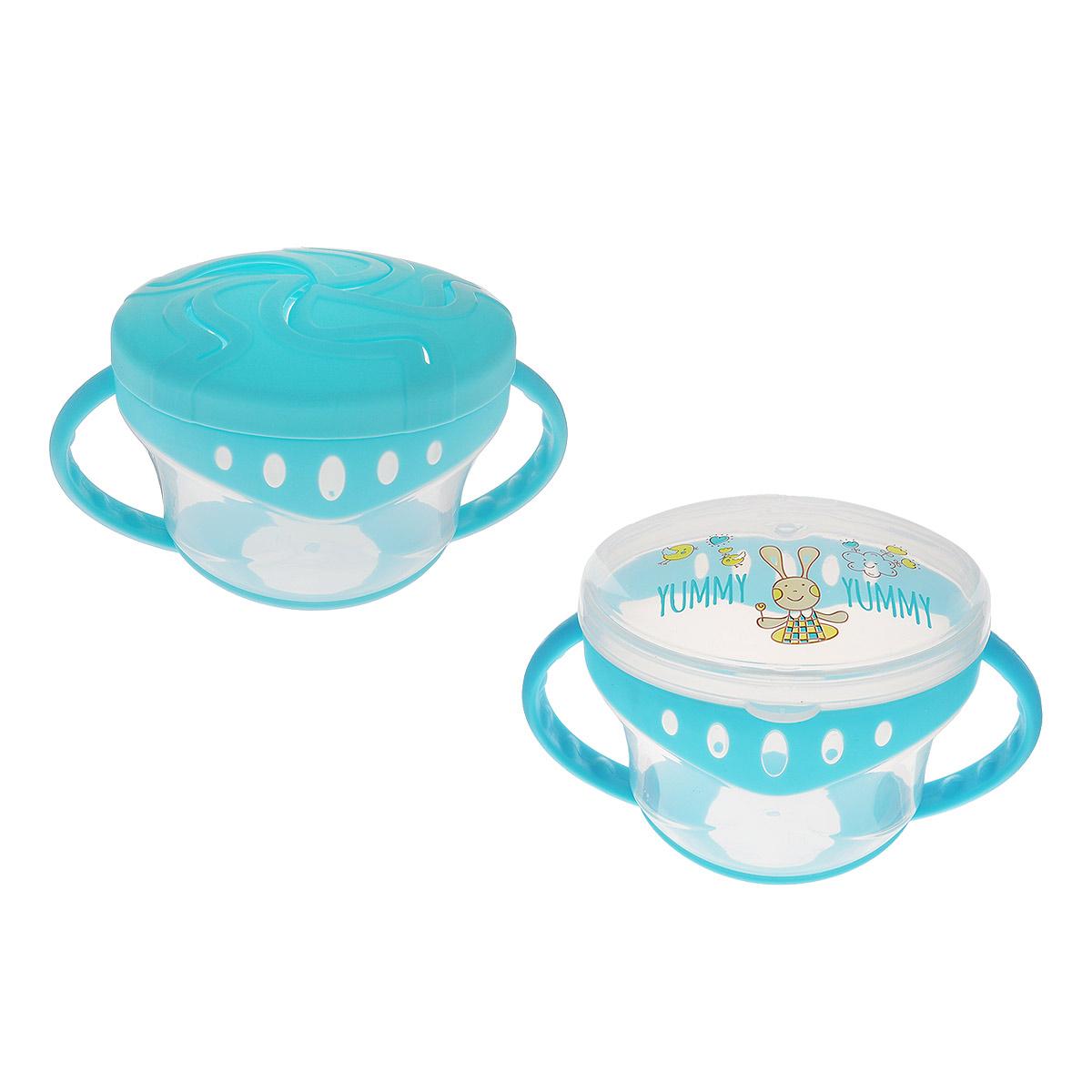 Набор детских тарелок Happy Baby Comfy Plate, с двумя крышками, от 6 месяцев, цвет: голубой15020_голубойНабор детских тарелок Happy Baby Comfy Plate состоит из двух тарелочек и двух разных крышек. Одна крышка герметичная, поэтому благодаря ей тарелку можно использовать как контейнер для хранения еды. Вторая крышка с прорезями для вентиляции пищи. Изображенные весёлые рисунки заинтересуют и порадуют вашего малыша. Рекомендовано детям старше шести месяцев.