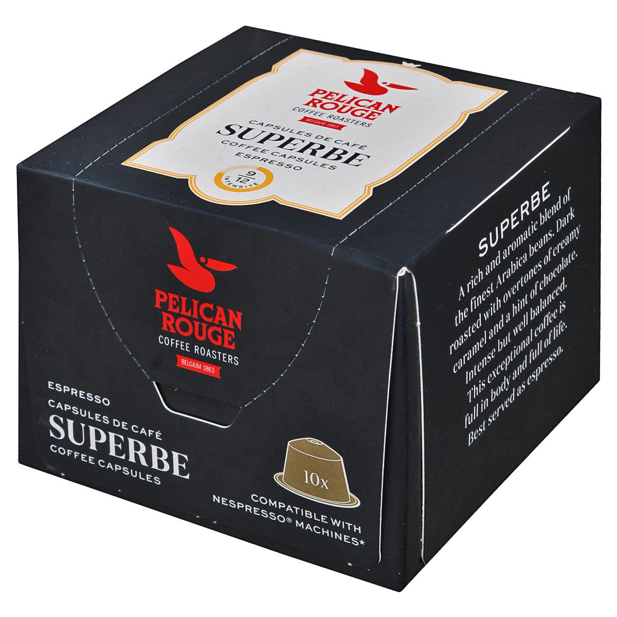 Pelican Rouge Superbe кофе в капсулах, 10 шт