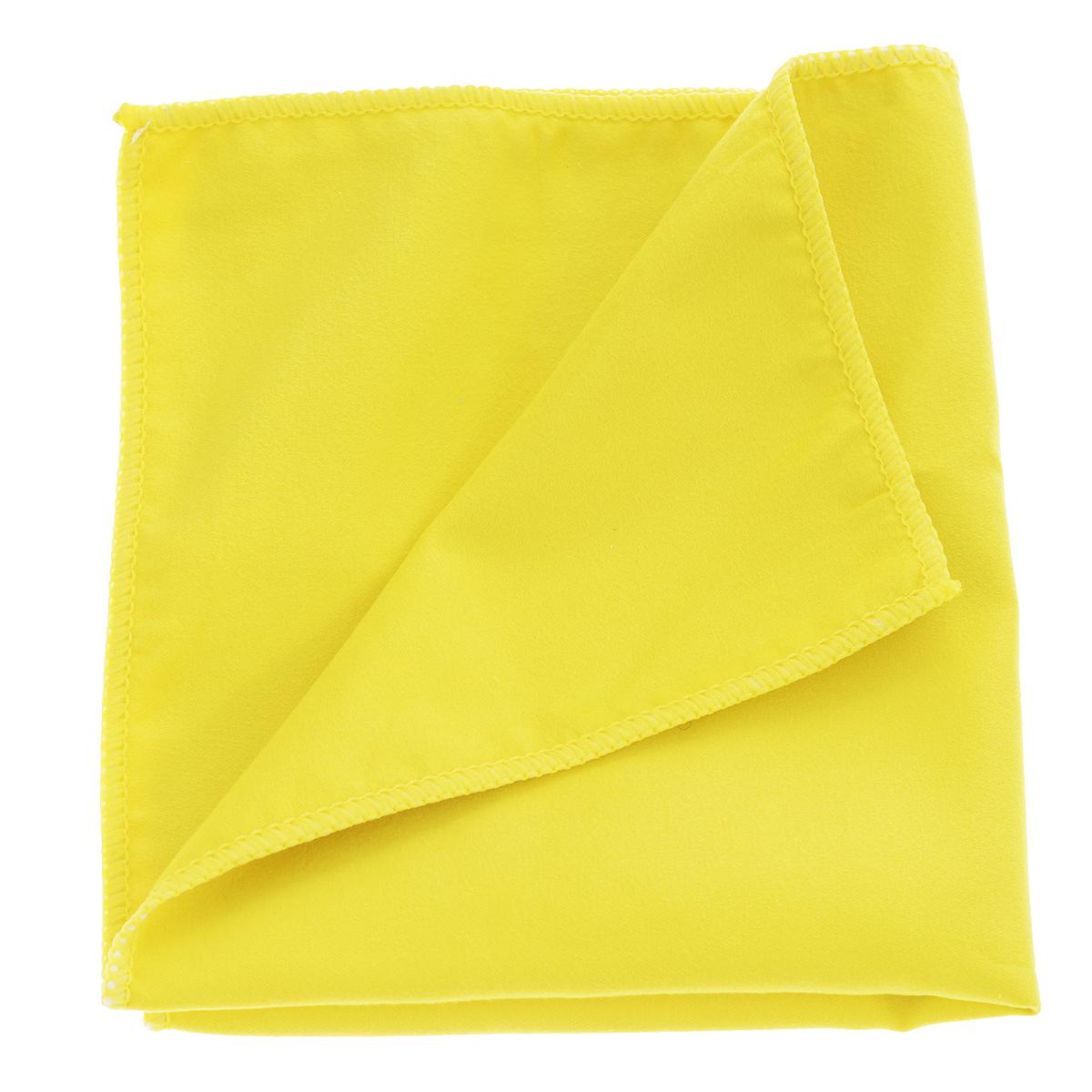 Салфетка из микрофибры Magic Power, для ухода за плазмой, LCD и TFT экранами, цвет: желтый, 35 х 40 смMP-504_желтыйСалфетка Magic Power, изготовленная из микрофибры (75% полиэстера, 25% полиамида), предназначена для ухода за плазменными, LCD и TFT-экранами, для очистки и антистатической обработки мониторов и экранов телевизоров, жидкокристаллических дисплеев, защитных фильтров, стеклянных деталей копировальных аппаратов и сканеров, оптических приборов. Полностью собирает пыль и снимает статическое электричество. Быстро и легко удаляет загрязнения, не оставляет разводов и ворсинок, обладает повышенной прочностью.