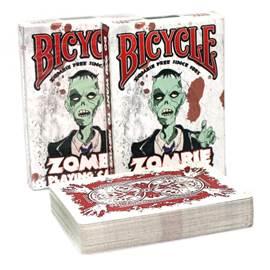 Карты игральные коллекционные Bicycle Zombified, 54 штBICYCLE_ZOMBIFIED