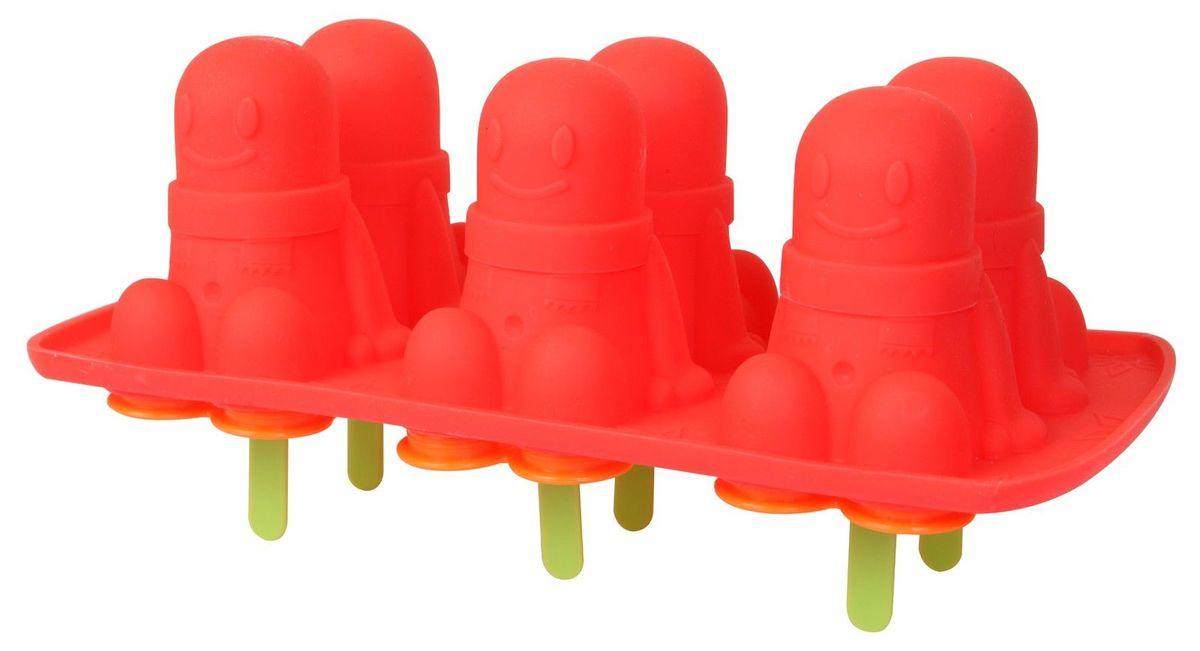 Формы для приготовления мороженого, цвет: розоый, оранжевый. 1784145517841455Формы для приготовления мороженого, цвет: розоый, оранжевый. 17841455