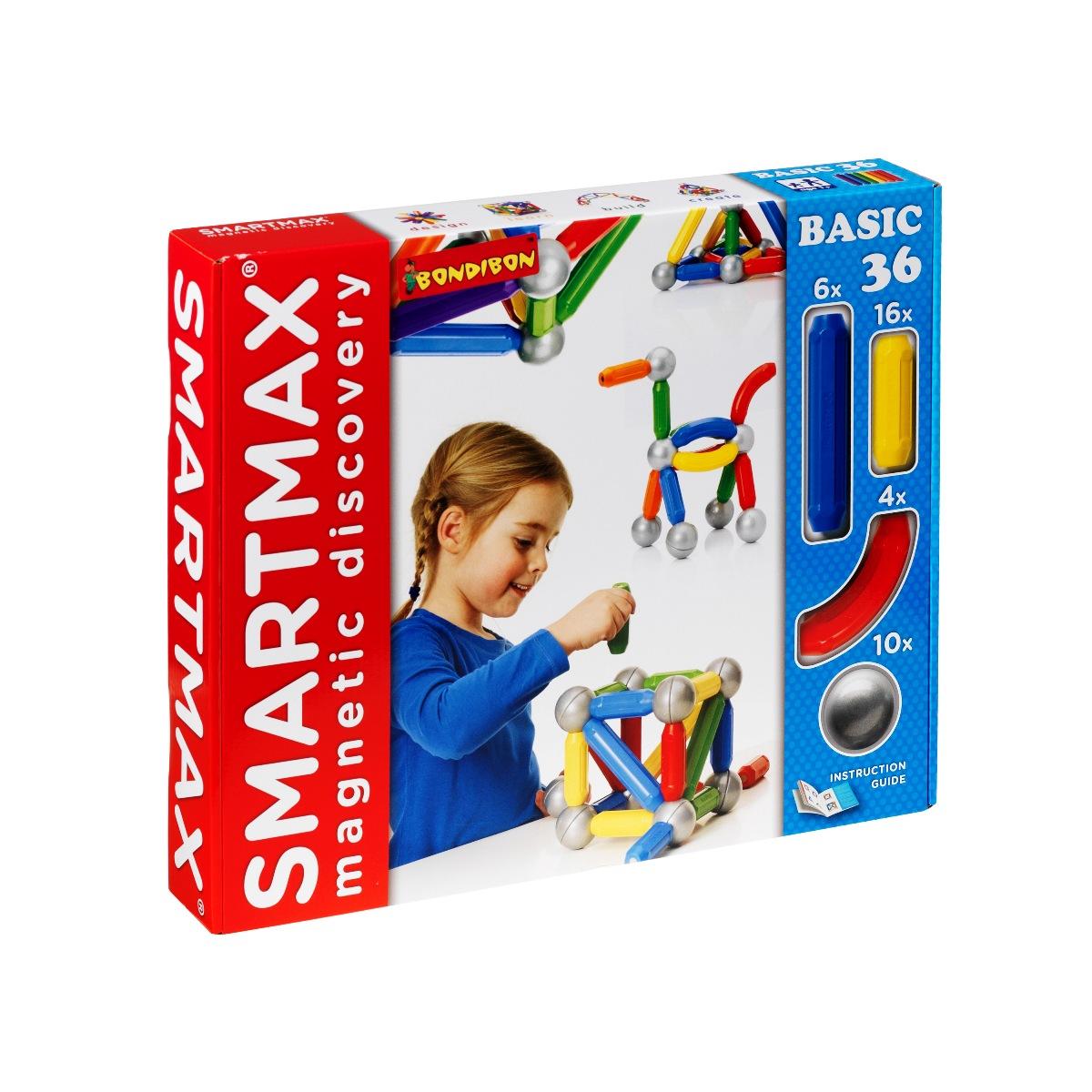 Bondibon Smartmax Конструктор магнитный Основной набор