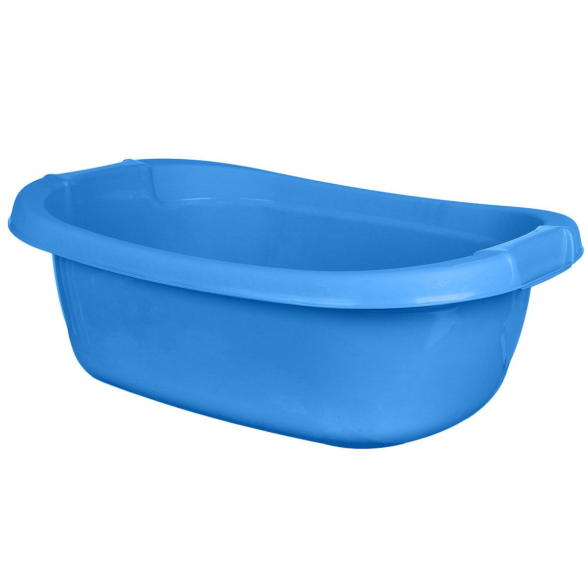 Таз овальный Dunya Plastik, цвет: голубой, 40 л5603 голубойОвальный таз Dunya Plastik выполнен из прочного пластика. Предназначен для стирки и хранения разных вещей. По бокам имеются углубления, которые обеспечивают удобный захват. Такой таз пригодится в любом хозяйстве.