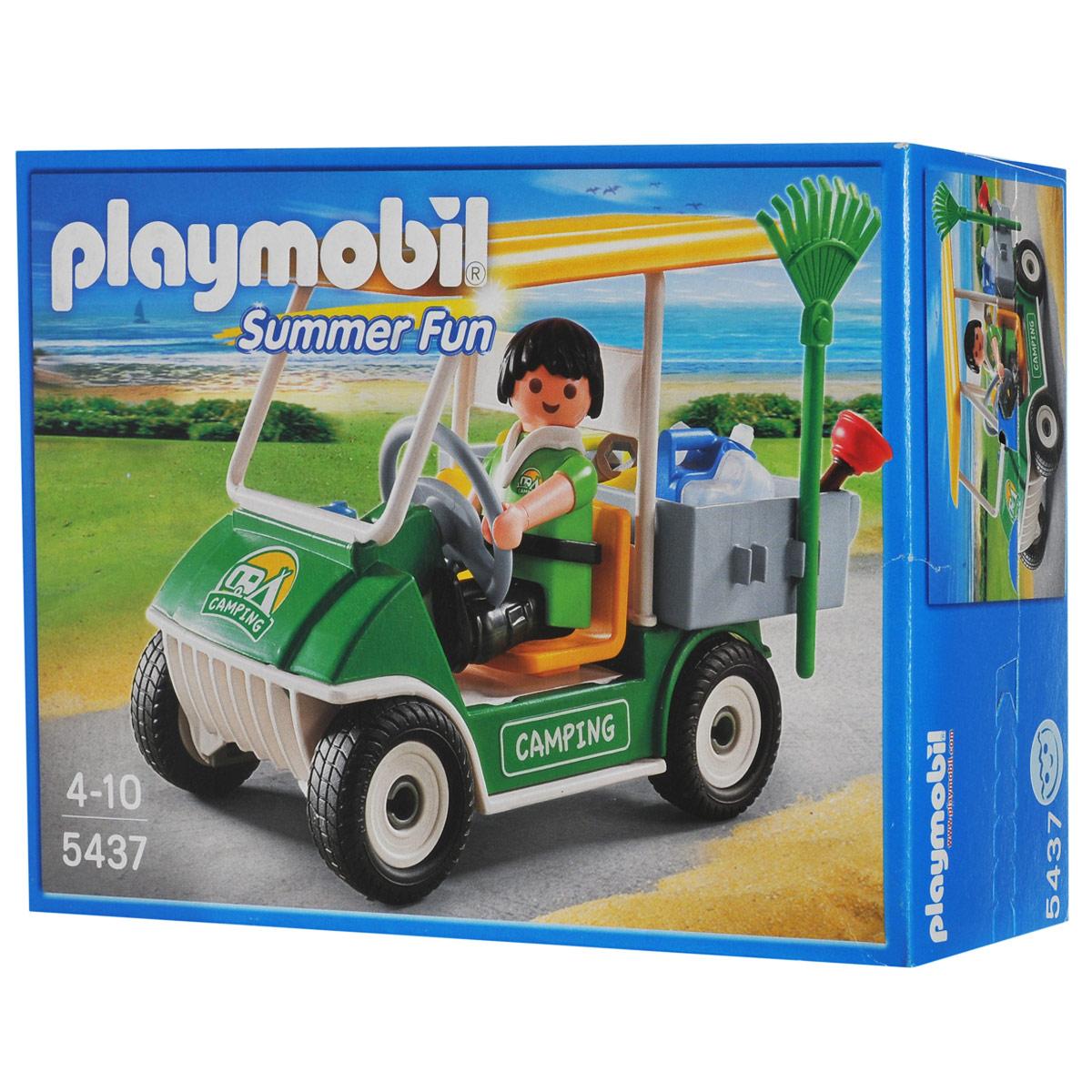 """Playmobil Игровой набор """"Машинка для обслуживания кемпинга"""""""