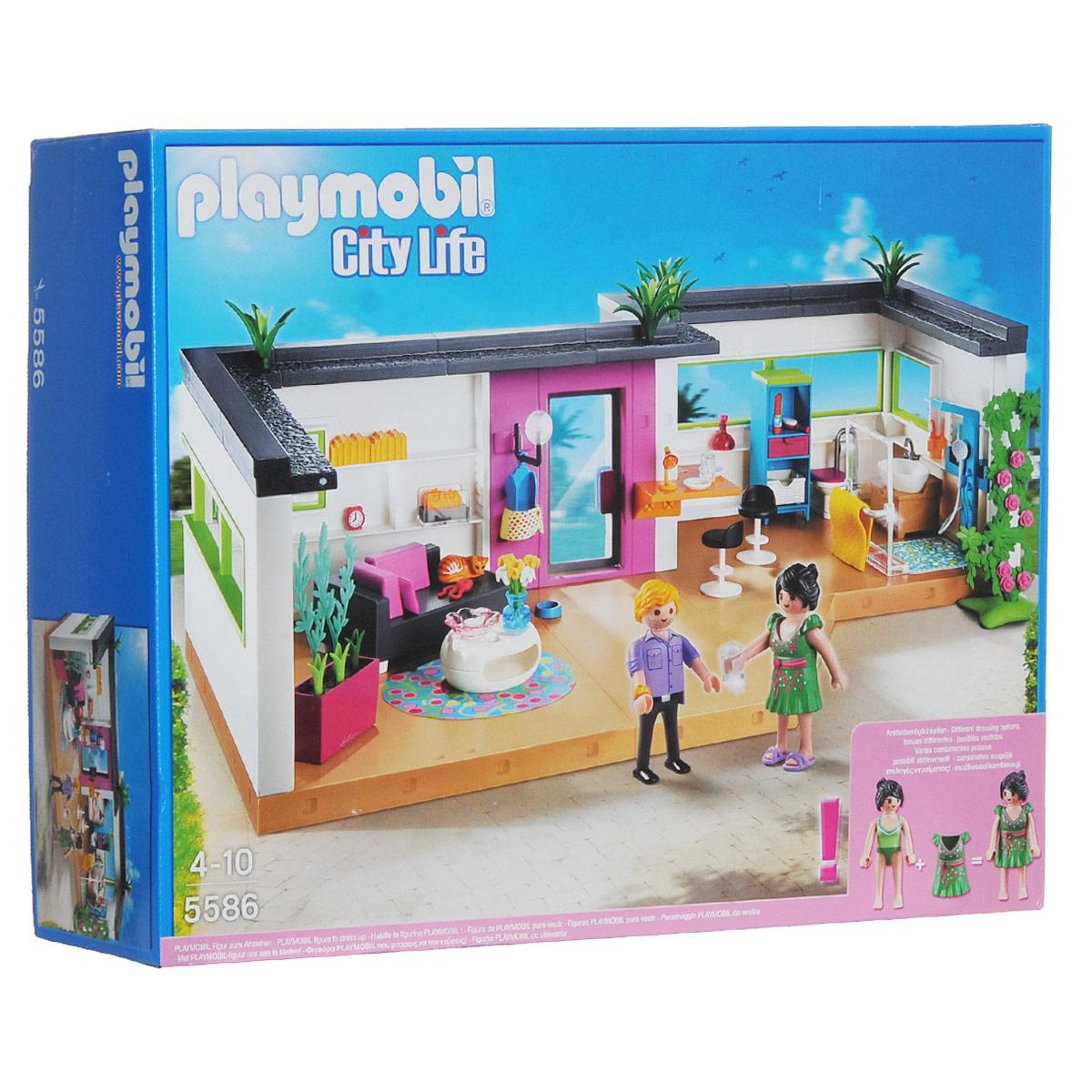 Playmobil Игровой набор Номер для гостей5586Игровой набор Playmobil Номер для гостей обязательно понравится вашему ребенку. Он выполнен из безопасного пластика и включает фигурки мужчины и женщины, элементы для сборки уютной комнаты со всем необходимым, элементы интерьера и другие аксессуары для игры. Гости почувствуют себя как дома, ведь и их номере есть гостиная с уютным диваном, ванная с душем и даже небольшая кухня с микроволновой печью, не говоря уже о множестве приятных мелочей. У фигурок подвижные части тела; в руках они могут удерживать предметы. Ваш ребенок с удовольствием будет играть с набором, придумывая веселые истории. Рекомендуемый возраст: от 4 до 10 лет.